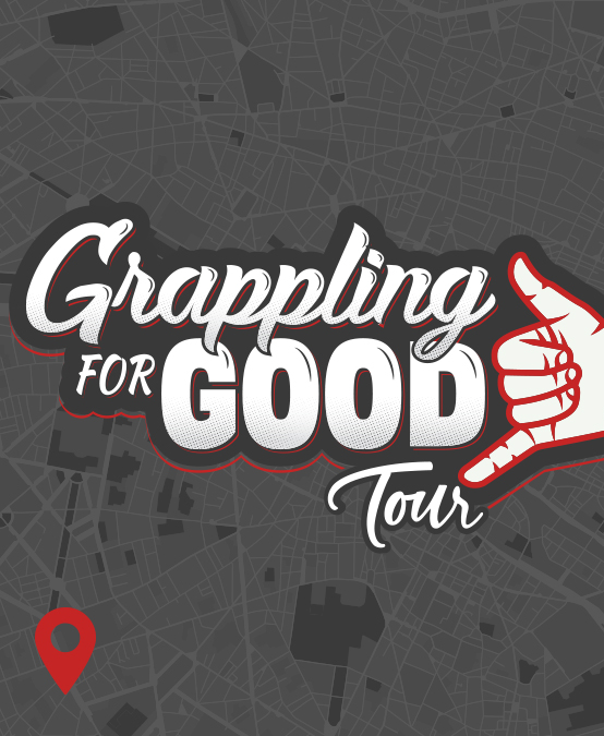 The Grappling for Good Tour is Coming!