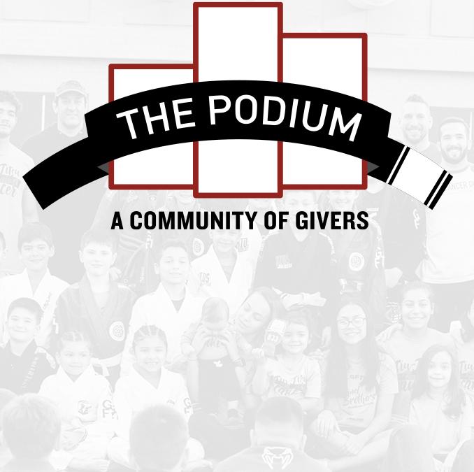 "Introducing: ""The Podium"""