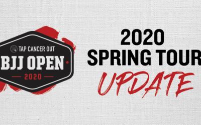 Spring Tour Updates