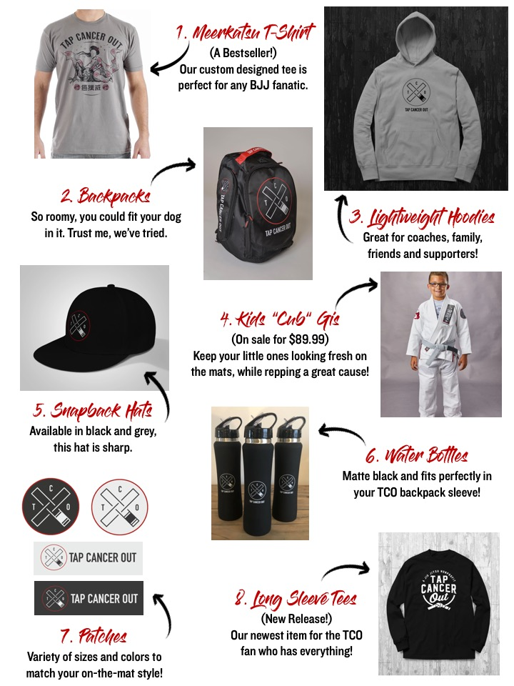 2019 Tap Cancer Out Gift Guide