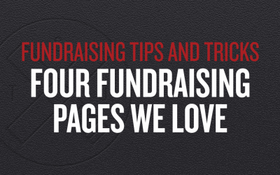Four Fundraising Pages We Love